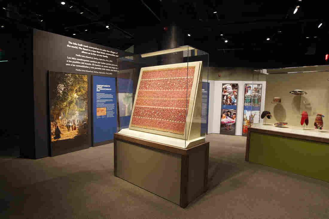 """The National Museum of the American Indian's exhibition, """"The Great Inka Road: Engineering an Empire,"""" will run until June 1, 2018."""