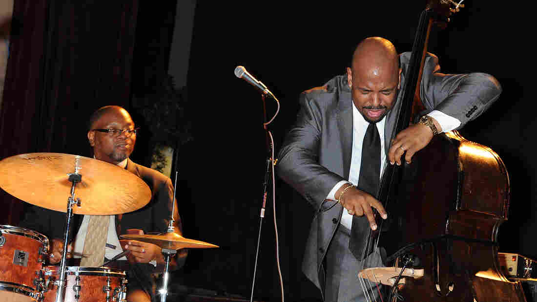 Bassist Christian McBride syncs up with drummer Lewis Nash in 2011.