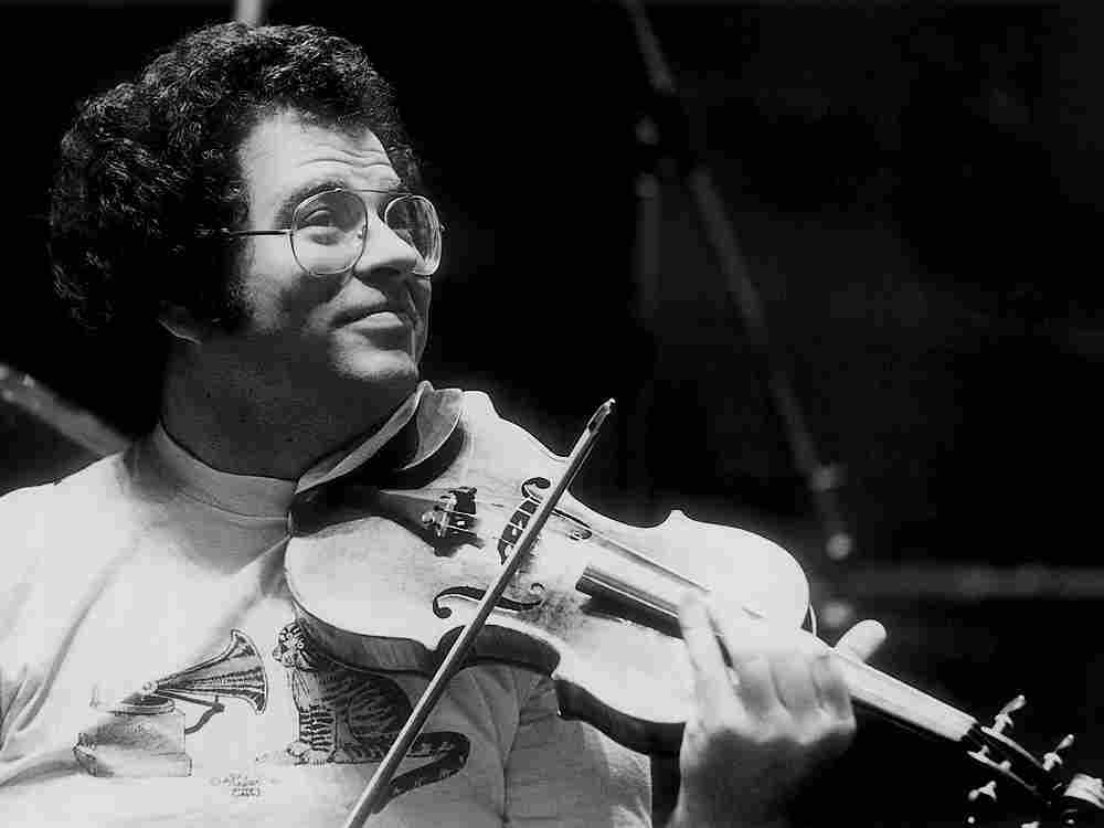 Itzhak Perlman, who turns 70 on Monday, has been playing the violin for 67 years.