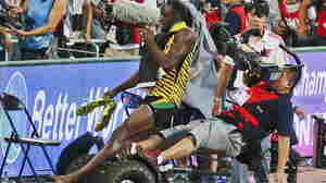 Usain Bolt Jokes That American Justin Gaitlin Paid Cameraman To Take Him Down