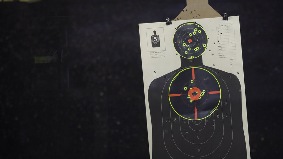 Shown a Realistic Human Target
