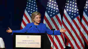 As Democrats Grow Nervous, Clinton Tries To Appeal To Party Leaders