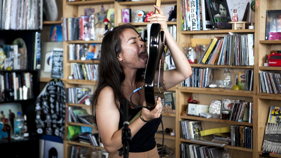 Tiny Desk Concert with Mitski (Lydia Thompson/NPR)