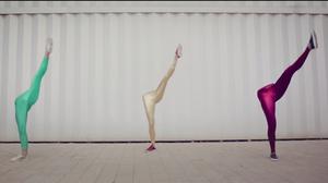 A scene from JR JR's video 'Gone'.