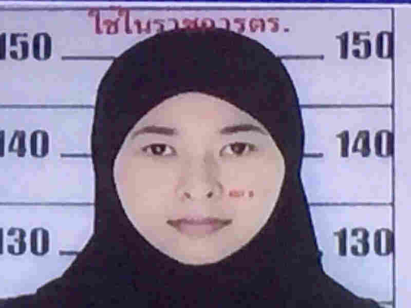 This image released Monday shows a 26-year-old Thai woman named Wanna Suansun, who is wanted by police in connection with the deadly Aug. 17 blast in Bangkok.