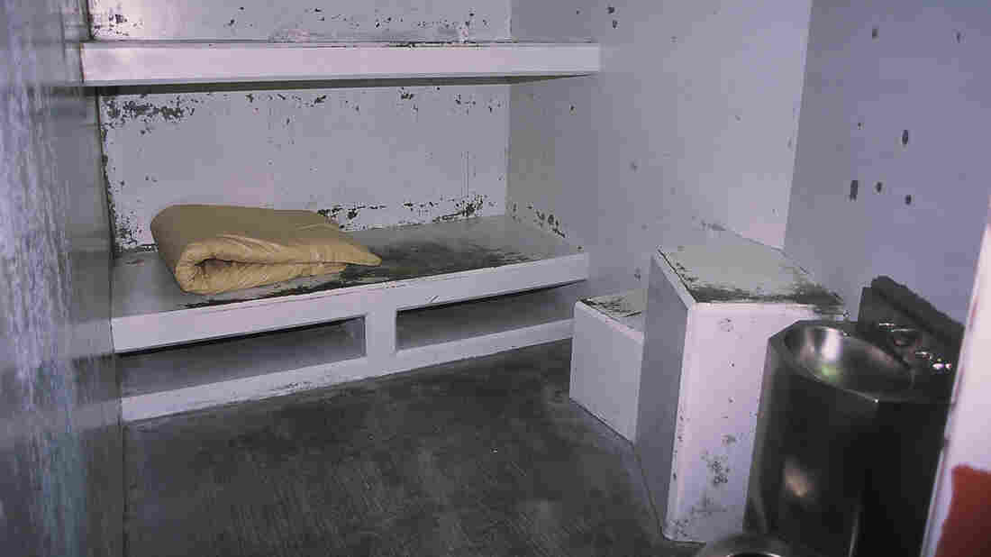 California has agreed to revise its rules on solitary confinement. This file photo shows a cell in the Secure Housing Unit of Pelican Bay State Prison in Crescent City, California.