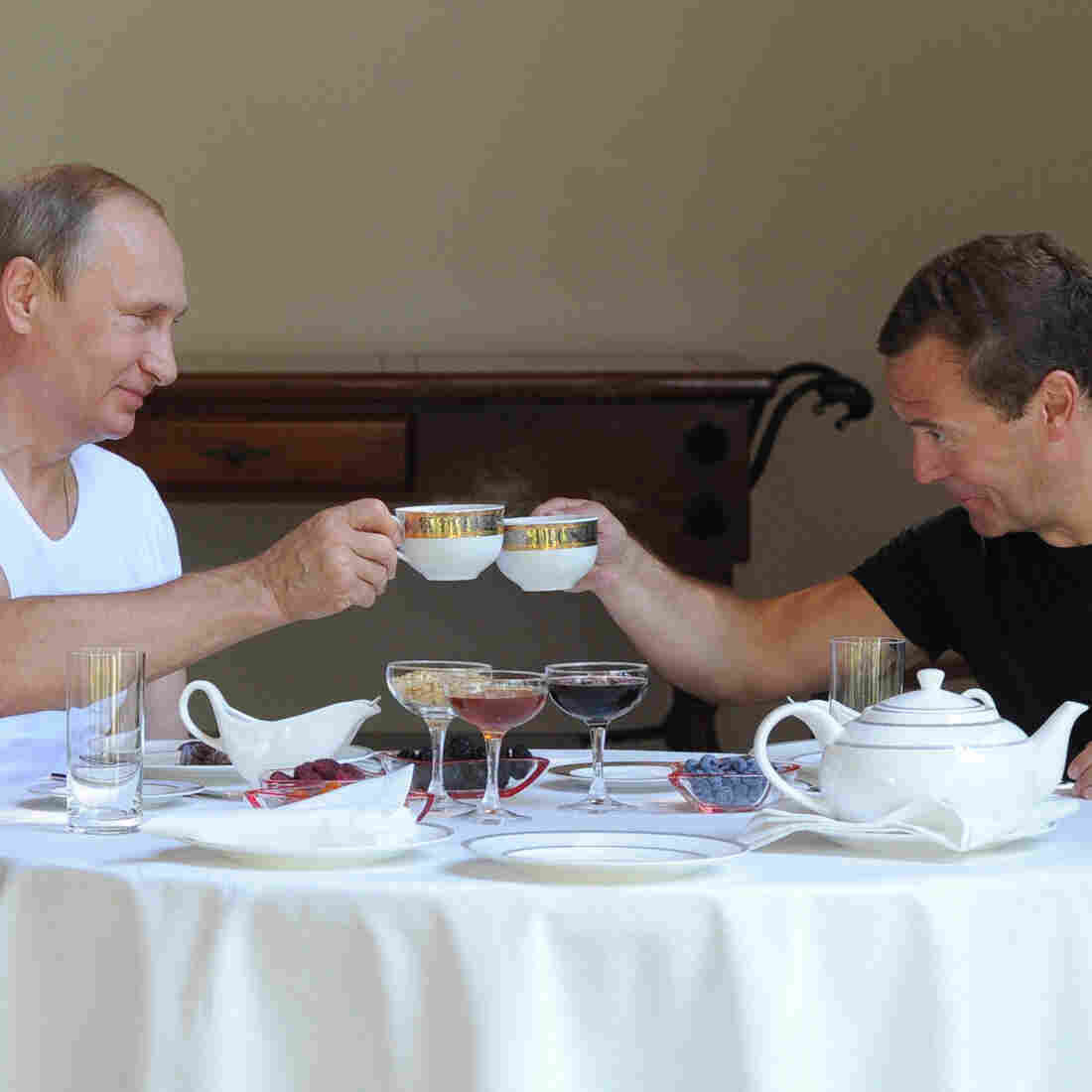 Just 2 Russian Bros Working Out, Grilling Steak, Drinking Tea
