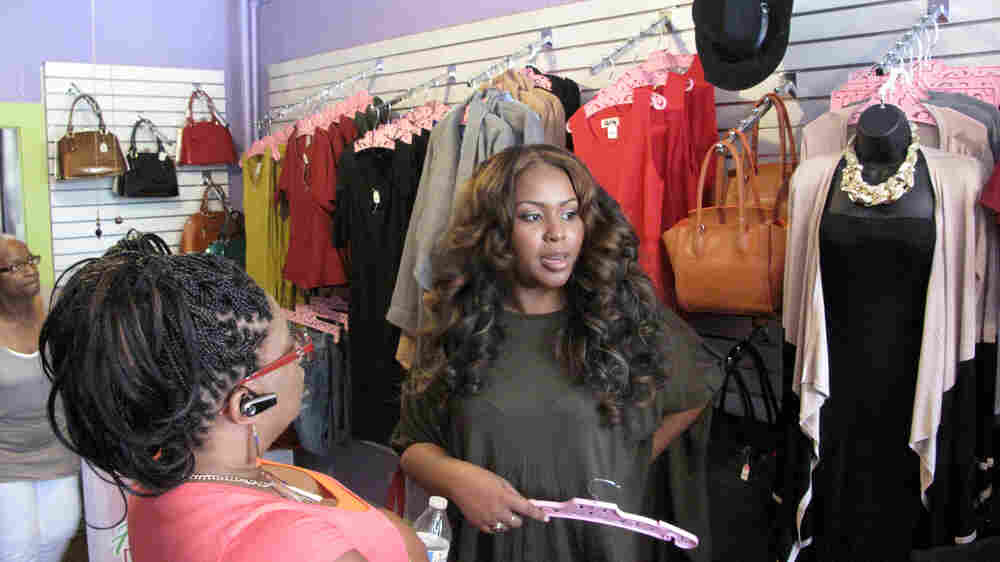 For A Baltimore Boutique Owner, A 'Joyous' Reopening After The Riots