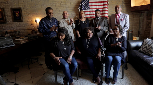 Field Recording with the McCrary Sisters and the Fairfield Four. (NPR)