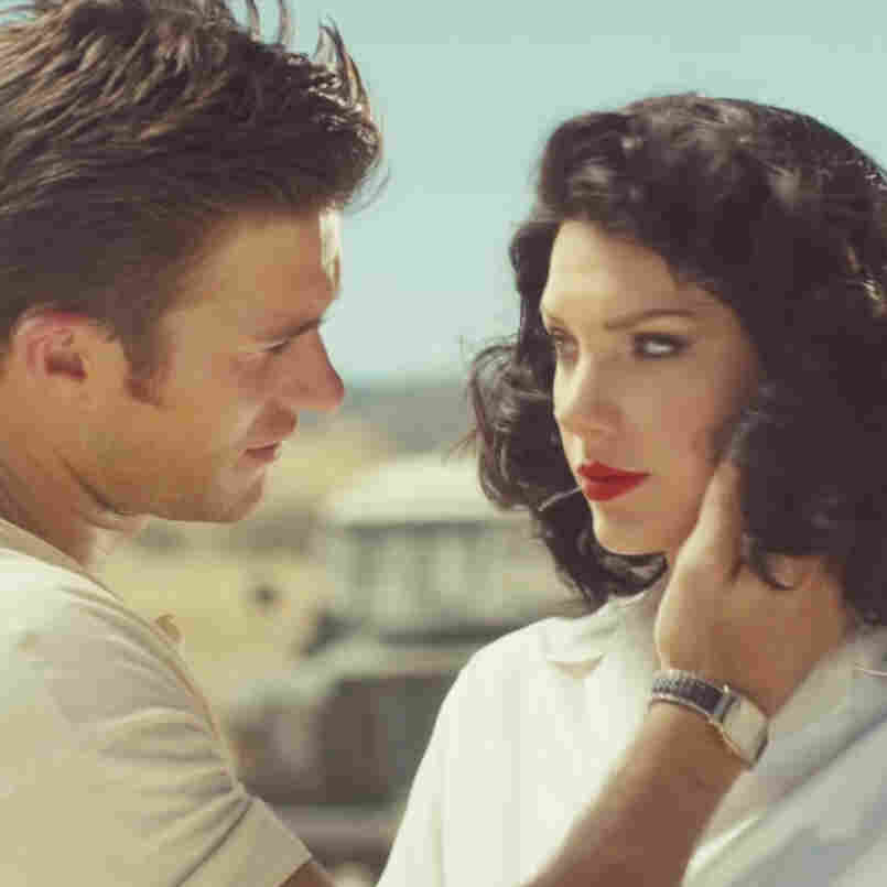 "In the video for ""Wildest Dreams,"" Taylor Swift and Scott Eastwood act out the story of a love affair set in Africa (although her scenes were filmed in California)."