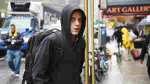 Rami Malek as Elliot Alderson on Mr. Robot.