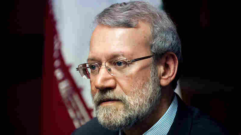 Transcript: Ali Larijani's Full NPR Interview On Iran Nuclear Deal