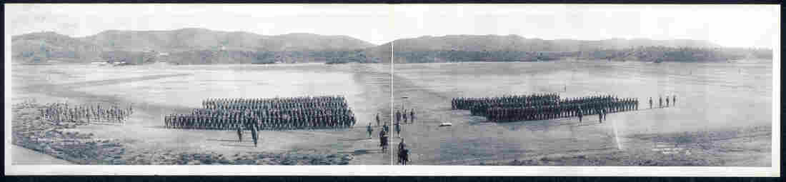 1es Regiment, U.S. Marines Camp, Deer Point, Guantanamo Bay, Cuba, April 26, 1911.