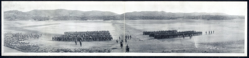 1es Regiment, U.S. Marines Camp, Deer Point, Guantanamo Bay, Cuba, April 26, 1911.
