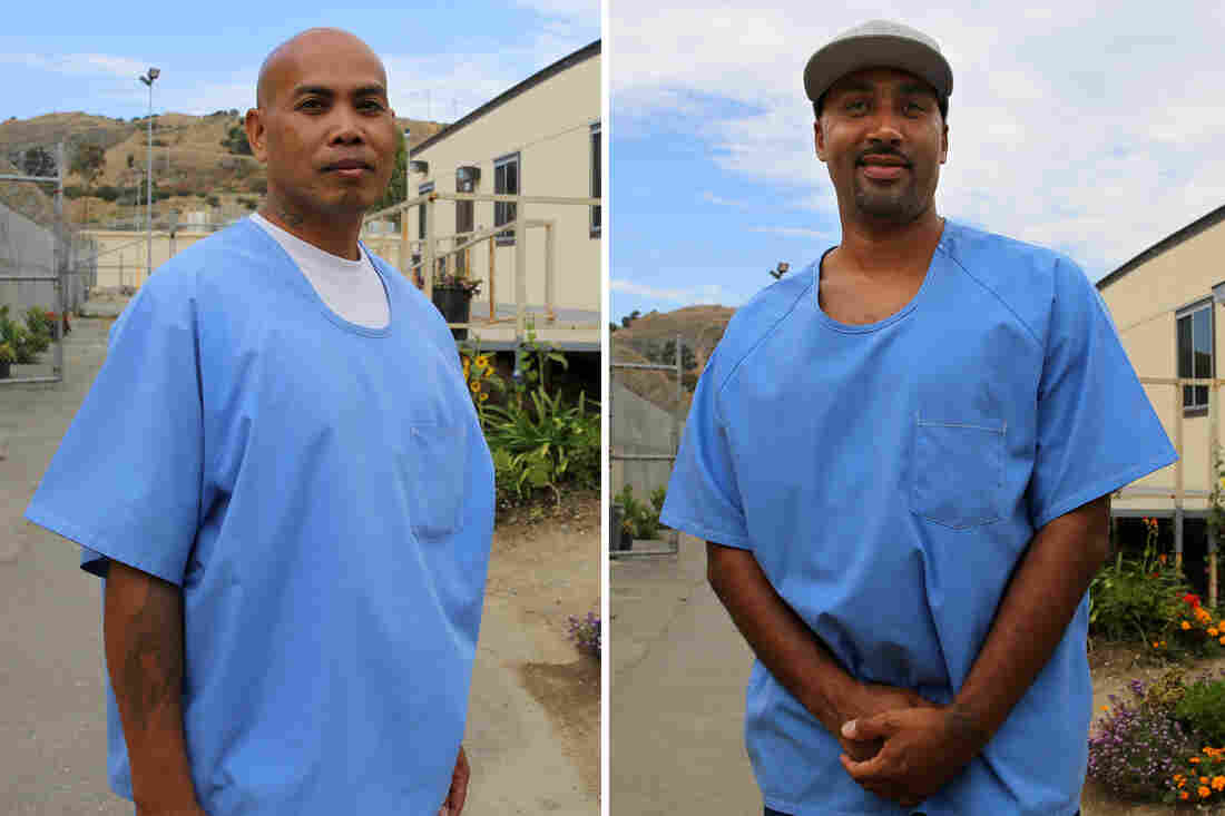 Left: Phoeun You earned his associate degree in June. Right: Jerome Boone earned his associate degree in June through PUP and the for-profit Patten University.