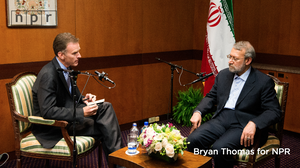 Excerpts: NPR Host Steve Inskeep Interviews Ali Larijani