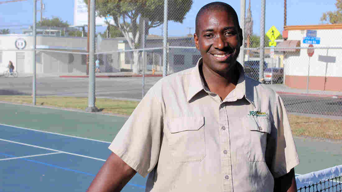 Andre Barbee met Venus and Serena Williams on the tennis courts at East Rancho Dominguez Park in Compton. He was 21 years old when Richard Williams invited him to train with his daughters.