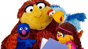 Gargur, No'maan, Melsoon and Shams — four of the Muppet stars of Iftah Ya Simsim, the first Arabic-language version of Sesame Street. The show went off the air 25 years ago, and other Arabic-language Sesame Street spinoffs have launched since — but now, the original is debuting again.