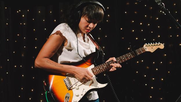 La Luz performs live in the KEXP studio. (KEXP)