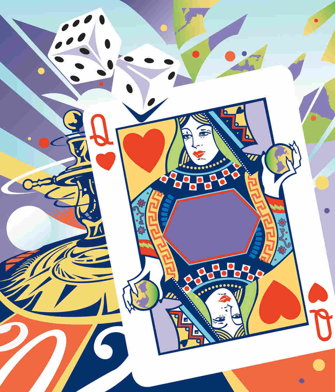 No gambling here: When asked to weigh financial choices, teenagers were more likely to make careful choices than were young adults.