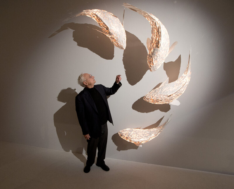 Frank Gehry's Lifelong Challenge: To Create Buildings That