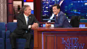Stephen Colbert Pays Tribute To Letterman, Makes 'Late Show' His Own