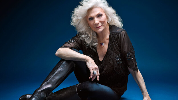 Judy Collins' new album, Strangers Again, finds the timeless pop singer teaming up with a dozen different duet partners. (Courtesy of the artist)