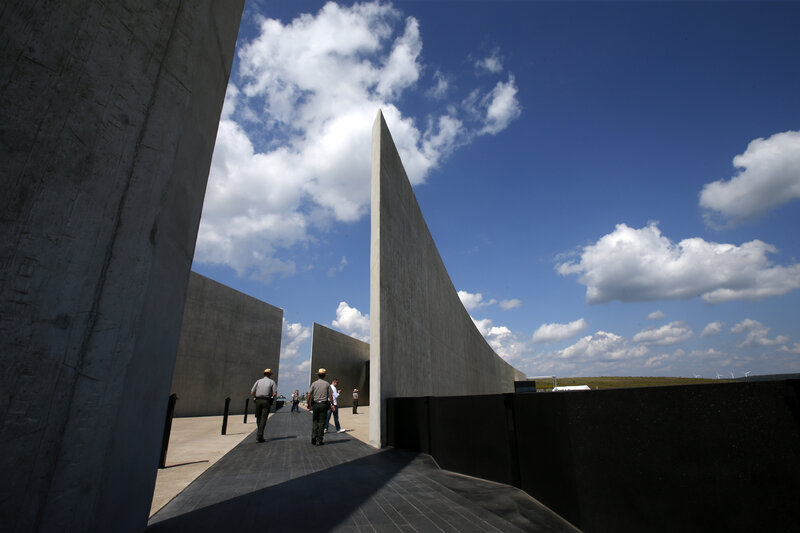 Image of the Flight 93 Memorial.