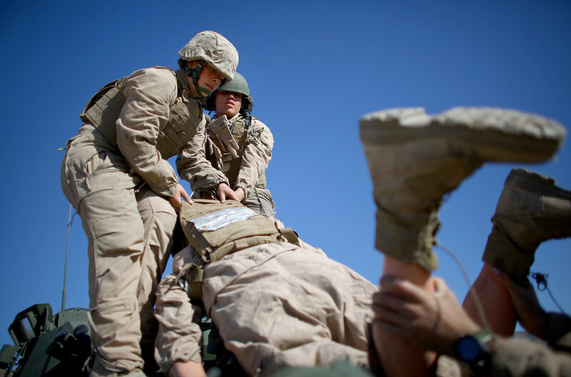 Marine Corps Study: All-Male Combat Units Performed Better