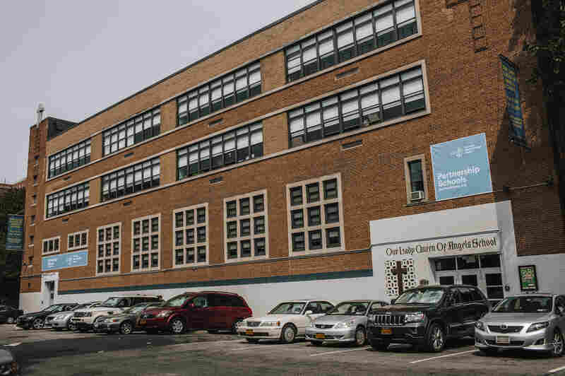 Our Lady Queen of Angels School is still open, although its former sponsoring parish closed in 2007. Pope Francis is due to visit the school during his visit to New York City in late September.