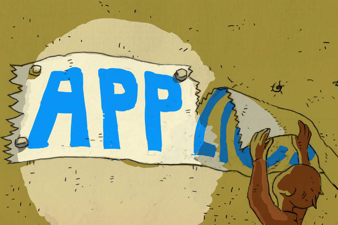 """""""App"""" is shortened from """"application."""""""