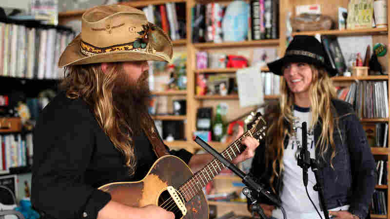 Tiny Desk Concert with Chris and Morgane Stapleton