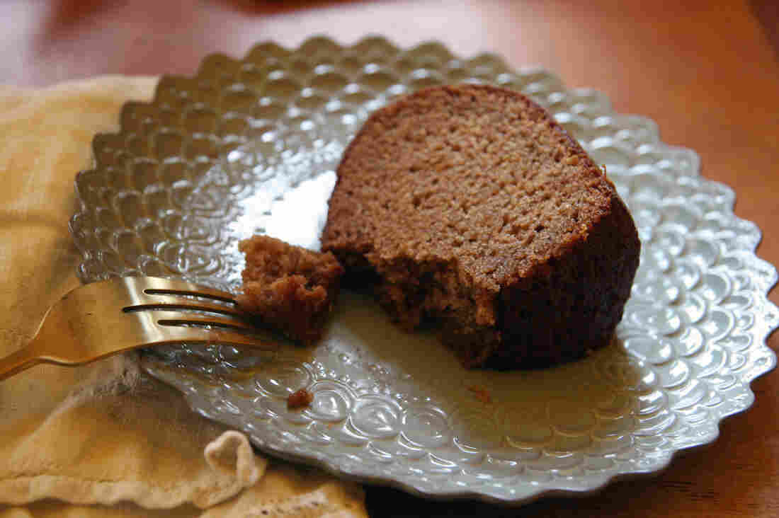 """""""Honey cake is considered the fruitcake of the kosher kitchen,"""" jokes cookbook author Marcy Goldman. """"The same resistance people may have to fruitcake, a lot of people have about honey cake."""" With her recipe — now the go-to recipe for thousands of families — Goldman modernizes this sweet taste of the past."""