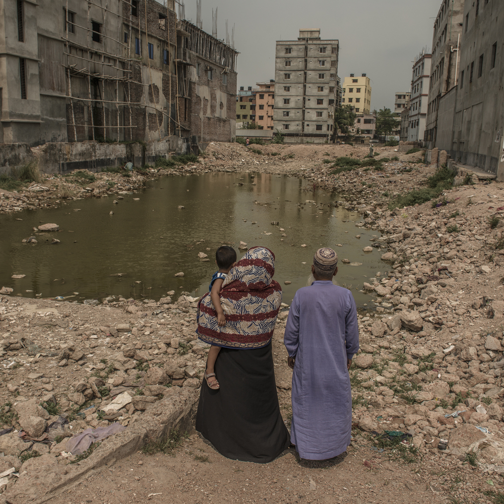 Rahela Begum lost her son at the 2013 Rana Plaza garment factory collapse: