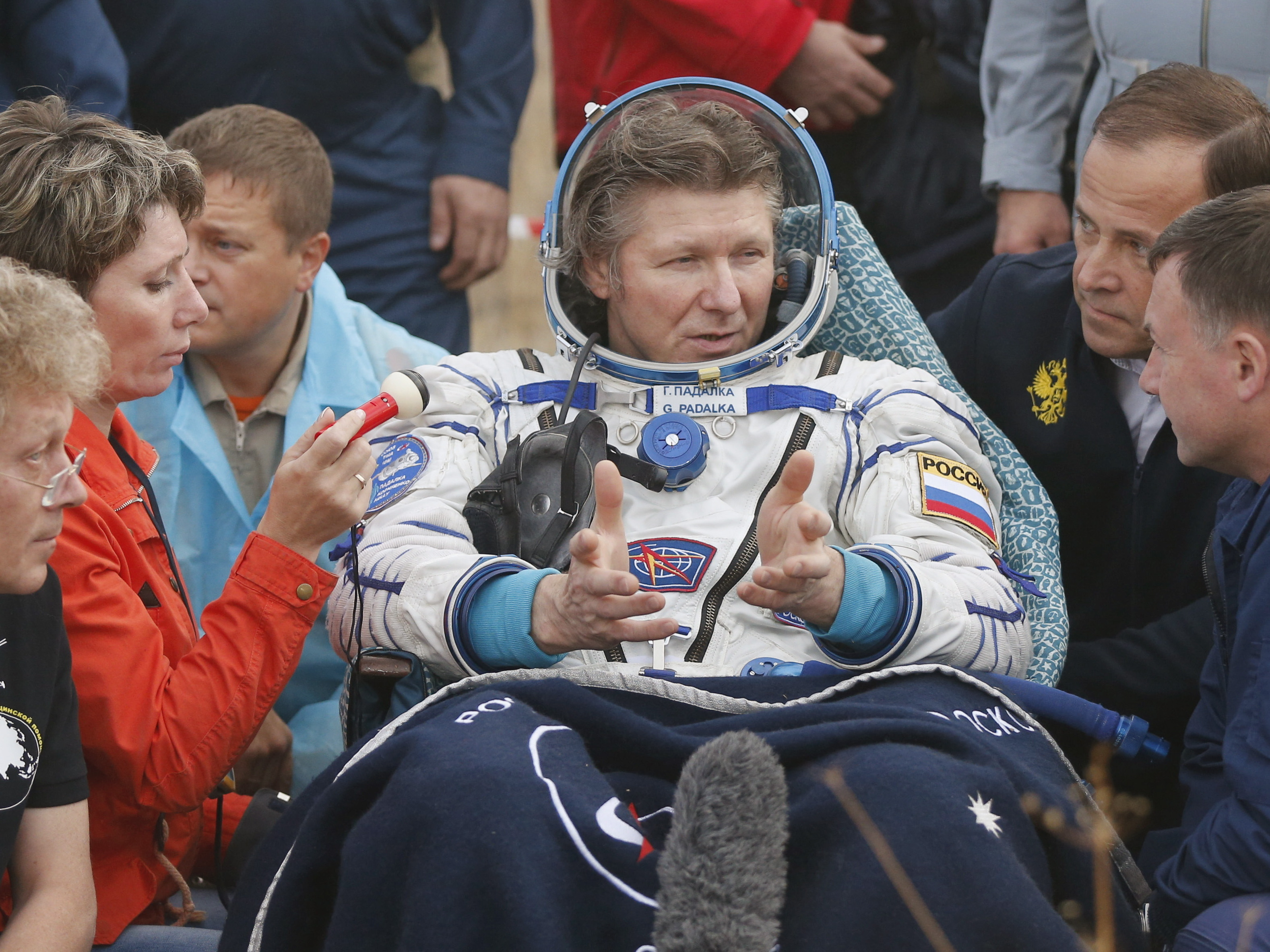 Russian Cosmonaut Returns From Record-Breaking Space Mission