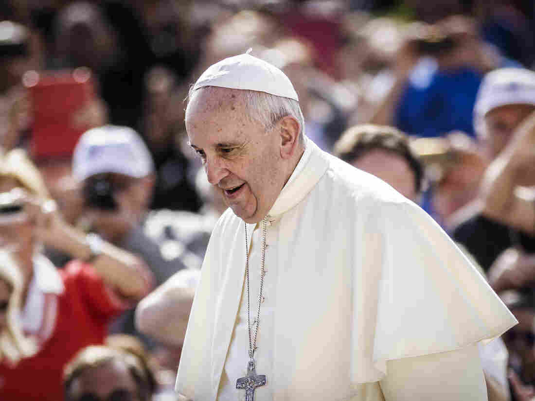 Pope Francis, in the Vatican's St. Peter's Square on Wednesday. The pope will begin his visit to the U.S. on Sept. 22 in Washington, D.C., where he will stay for several days before moving on to New York City.