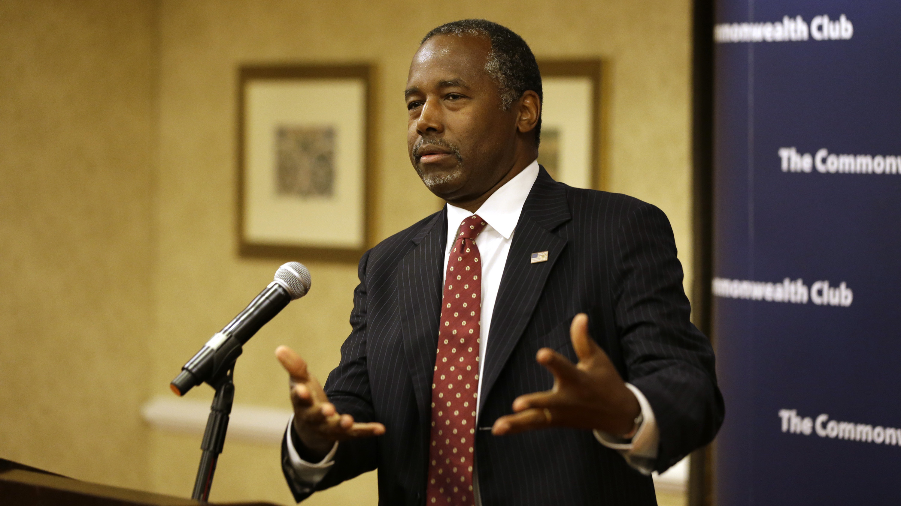 Ben Carson Says A Screening Mechanism Needed To Resettle Syrians