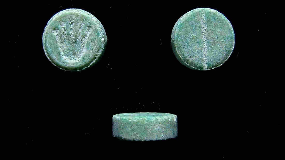 Ecstasy pills confiscated by law enforcement. For decades, MDMA has gotten a reputation as a dangerous club drug — but reporter Kelley McMillan says it was first used for therapeutic purposes in the '70s.