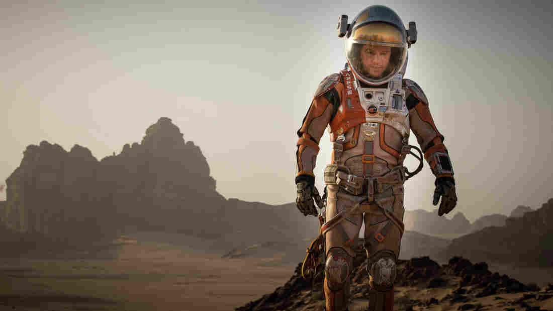 Matt Damon plays an astronaut accidentally abandoned on Mars in Ridley Scott and Drew Goddard's The Martian.