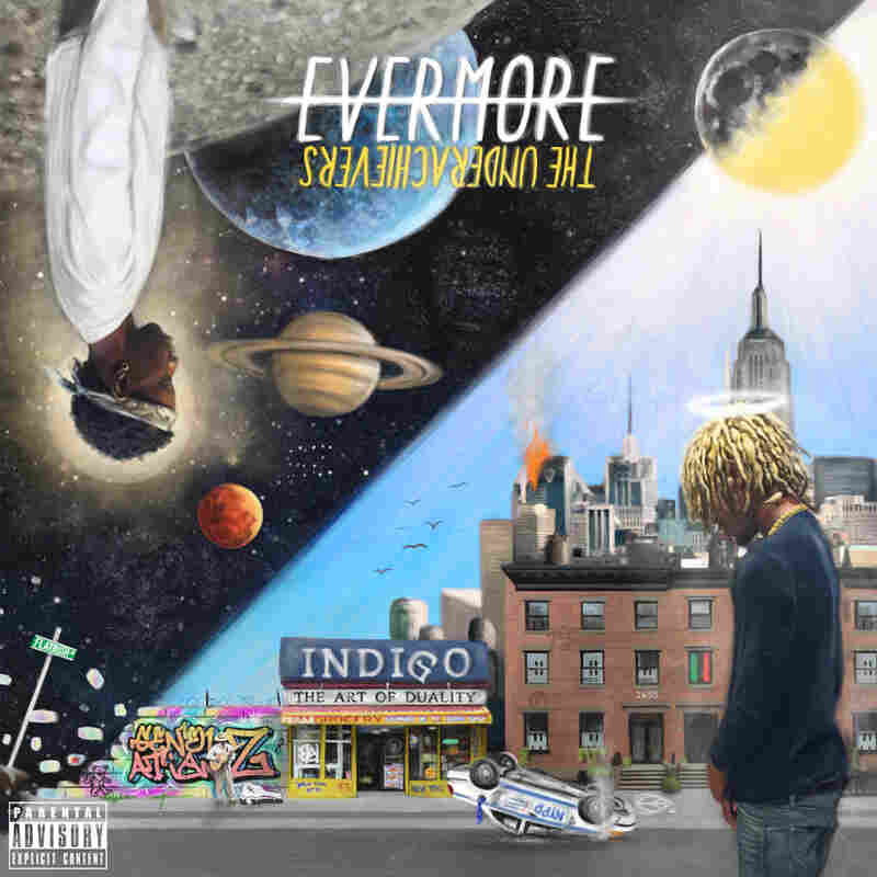 Cover for Evermore: The Art of Duality.