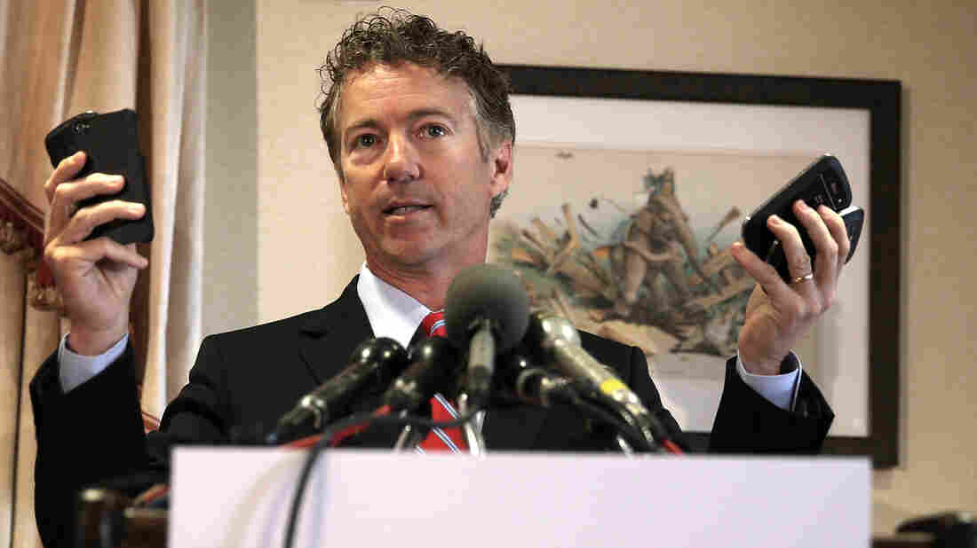 Sen. Rand Paul's campaign responded in real time during last month's debate with videos on Twitter and Vine.
