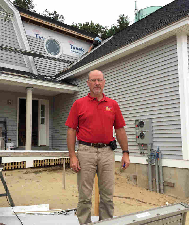 Mark Patterson, owner of PATCO Construction in Sanford, Maine, said his company lost more than $500,000 to cyberfraud.