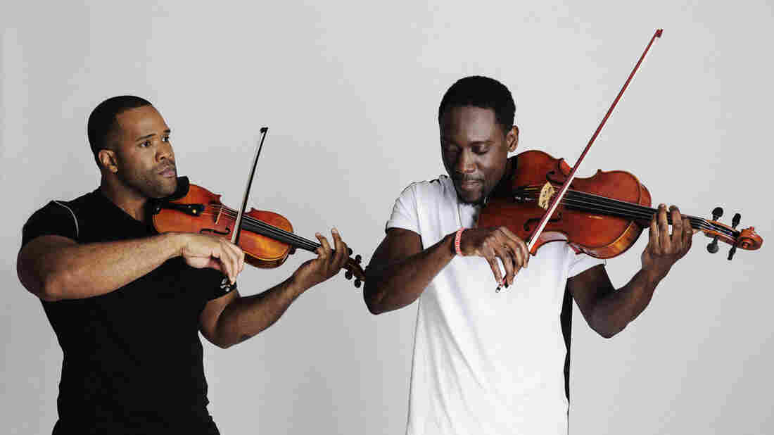 Black Violin's new album is called Stereotypes.