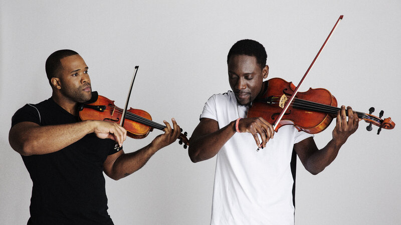 A Duo Raised On Hip-Hop And Classical Has It Both Ways : NPR