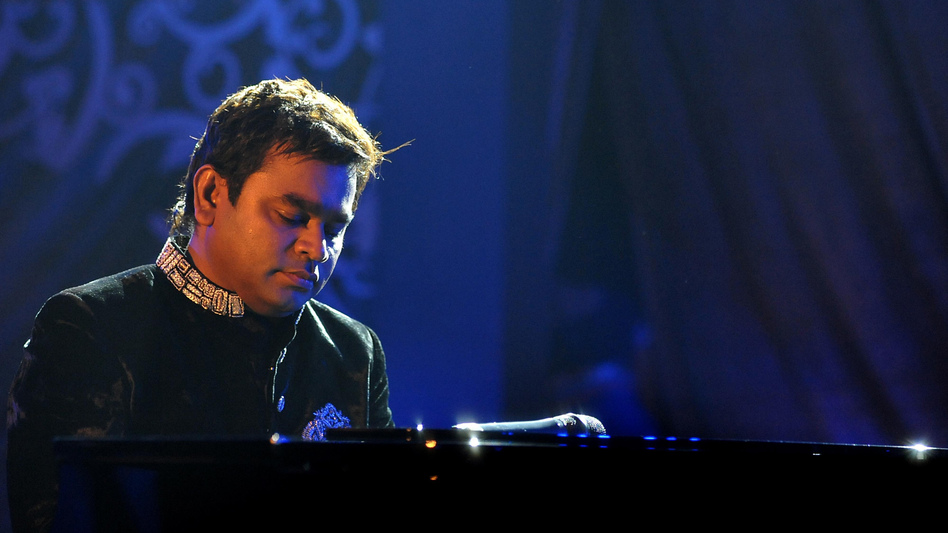 Indian composer A.R. Rahman performing in Mumbai in February 2014. (AFP/Getty Images)
