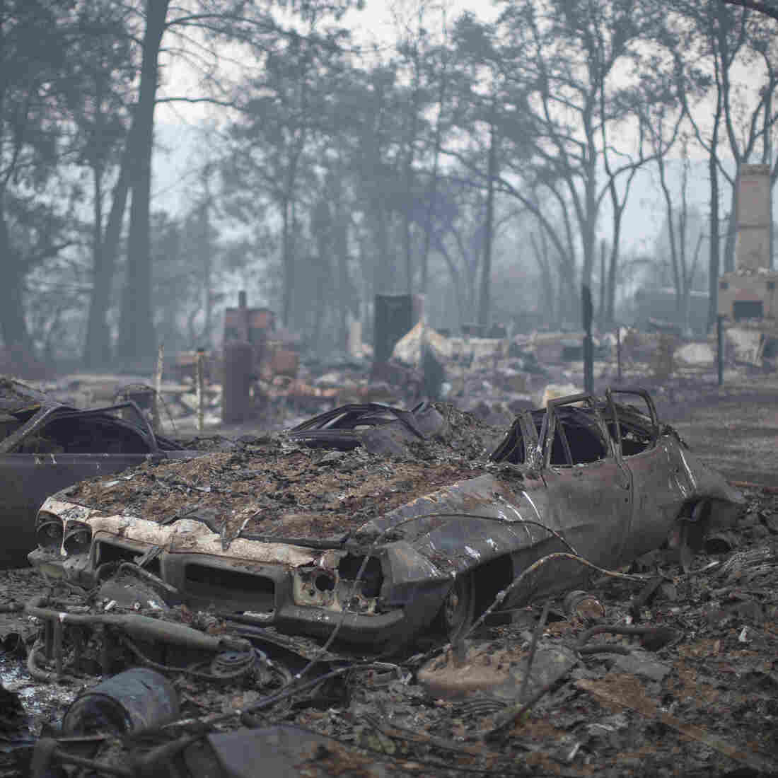Fast-Moving Wildfires Destroy Hundreds Of Homes In Northern California