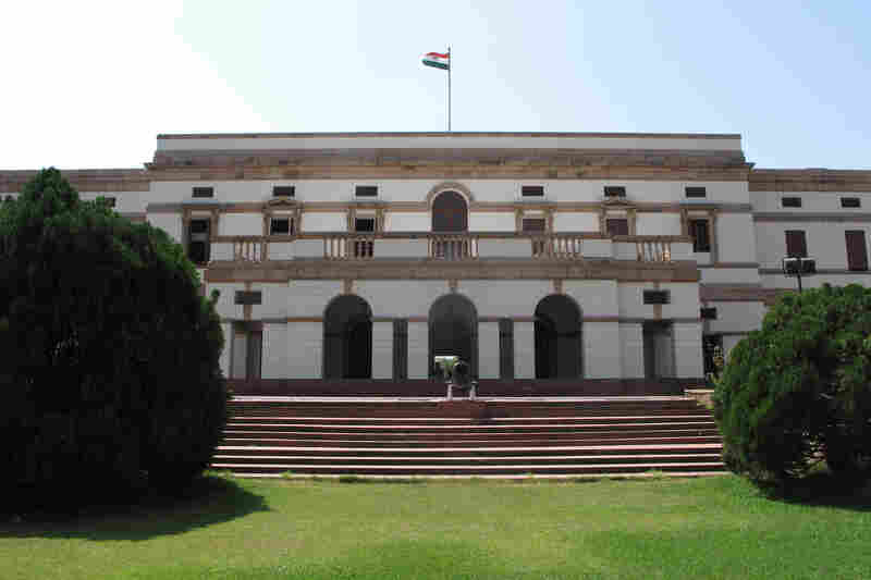 The museum, housed in Nehru's former home, contains memorabilia and photos chronicling Nehru's life and the enormous sweep of history through which he lived.