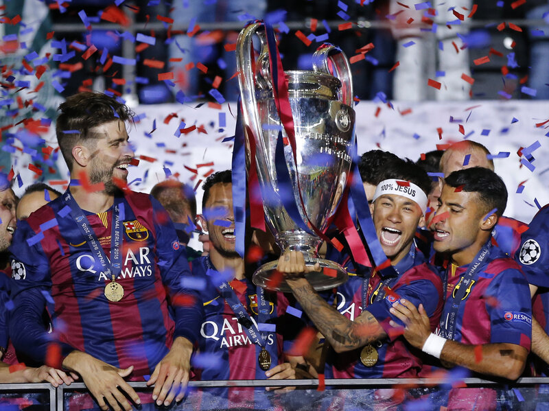 Barcelona Kicks Off Quest For Consecutive Champions League Titles The Two Way Npr