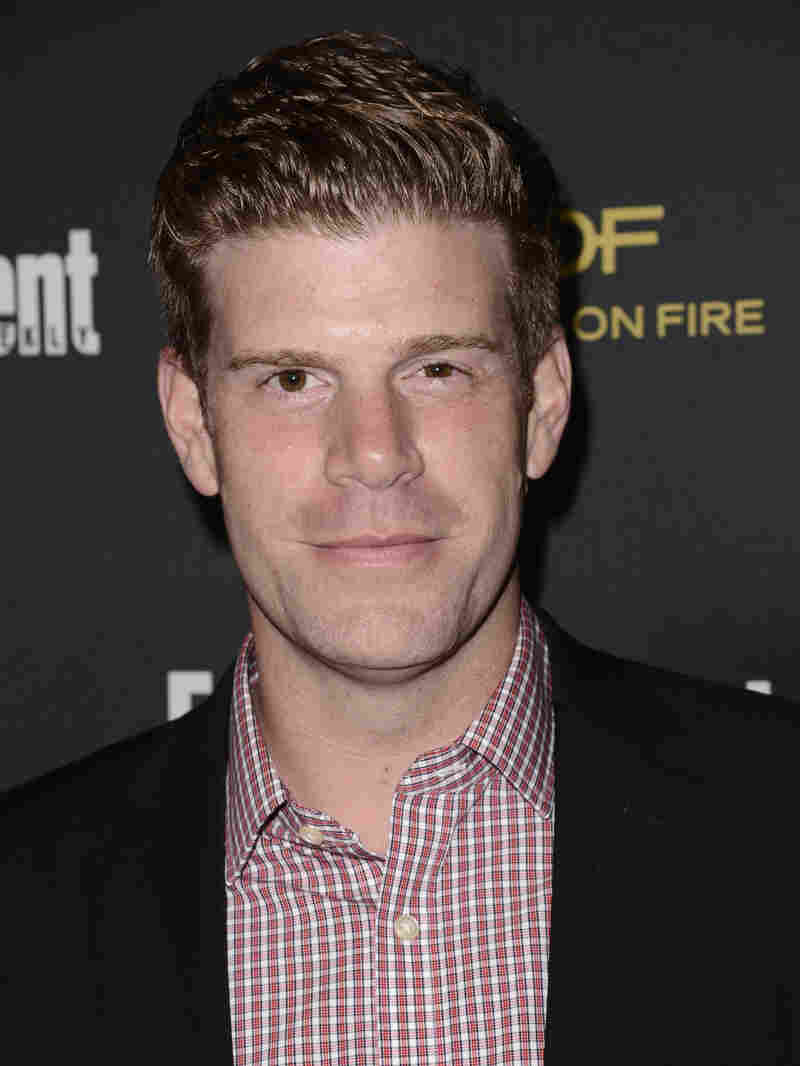 Comedian Steve Rannazzisi arrives at an Emmy event in 2014. He has admitted he lied for years about being in the World Trade Center when it was attacked in 2001.