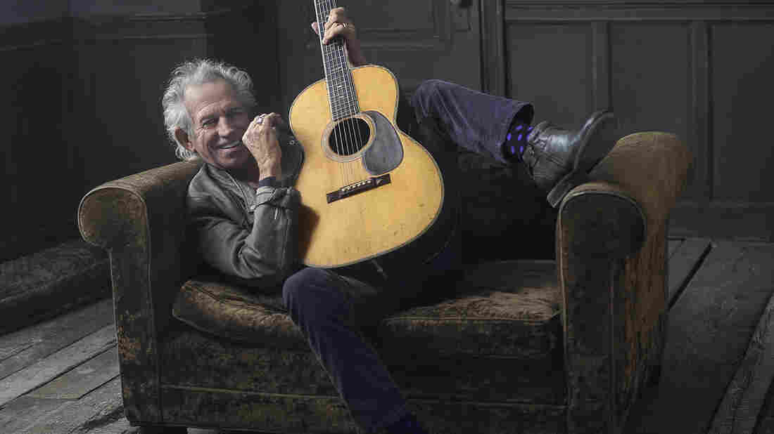 Keith Richards' new solo album, Crosseyed Heart, arrives Friday alongside a new Netflix documentary about his life.